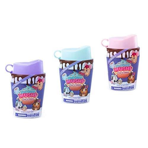 Smooshy Mushy Series 4 - Cup 'n Cakes Squishy Toy Surprise - Bundle of 3 (Manor Gate Manor Gate)