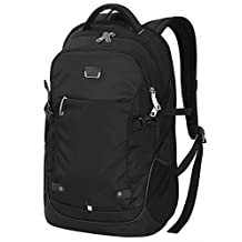 "Travel Backpack, WATERFLY Shoulder Bag Business Backpack Hiking Daypack Slim Water Resistant For 14"" 15"" Laptop"