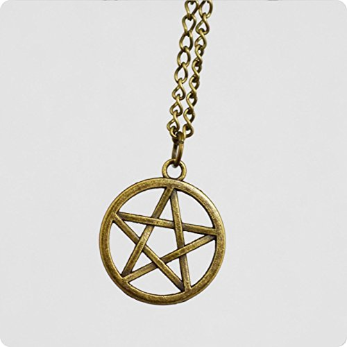 Five Pointed Star Necklace Pentagram Necklace
