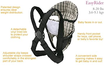 1d0b513140a Amazon.com   Infantino Baby Rider Carrier   Baby
