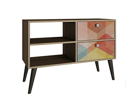 ModHaus Living Mid Century Modern TV Stand Media Cabinet for sale  Delivered anywhere in USA