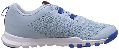 Reebok Womens Everchill Train Blue, Dark Blue and White Multisport Training Shoes - 7 UK