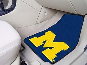 "Brand New Michigan 2-piece Carpeted Car Mats 18""x27"""