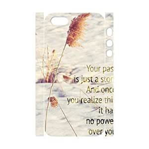 Cool Painting Quotes Custom 3D Cover Case for Iphone 5,5S,diy phone case case530016