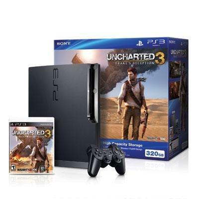 Sony PS3 320GB Uncharted 3 Bundle (98438)