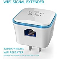 Wireless WiFi Repeater, TOP-MAX 300Mbps WiFi Range Extender, 2.4GHz WiFi Signal Amplifier Booster, Supports Router Mode/ Repeater/ Access Point, 360 degree WiFi Coverage
