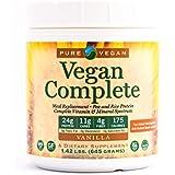 Pure Vegan Nutritional Vegan Meal Replacement Shake, Vanilla, 1.42 LBS