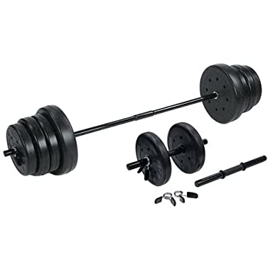 US Weight F0105E- 105-Pound Weight Set with Dumbbells