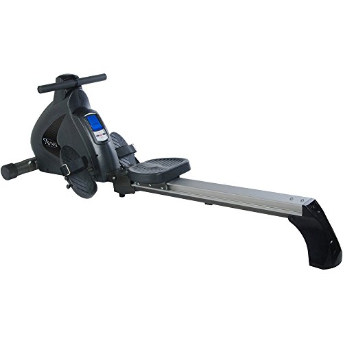 Rowing machine challenge. Stamina Avari Programmable Magnetic Exercise Rower with Fold-to-Fit Folding Equipment Mat (84-Inch by 36-Inch)