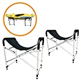 """Onefeng Sports Foldable Kayak Ground Storage Stand Rack for Kayak Surfboard SUP Canoe - 29"""" Tall"""