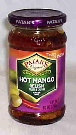 Patak's Hot Chutney, Mango, 12 Ounce
