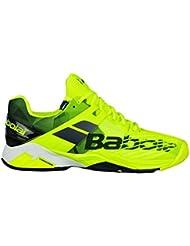 Babolat Propulse Fury Clay Mens Tennis Shoes - Yellow/Black