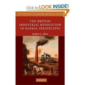 Read Online The British Industrial RevolutioninGlobal Perspective byAllen ebook