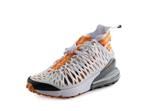 Nike Mens Air Max 270 ISPA White/Ghost Aqua Synthetic Size 10.5