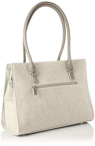 Hombro grey Cm3762 Y Bolsos Jones Mujer Shoppers De Gris David PxOawSc