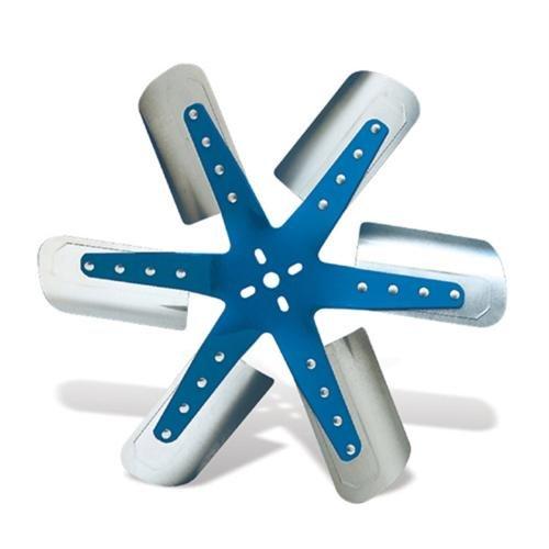 Flex-a-lite 1317 Blue Star Stainless Steel 6-Blade 17