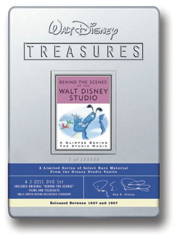 Walt Disney Treasures - Behind the Scenes at the Walt Disney Studio ()