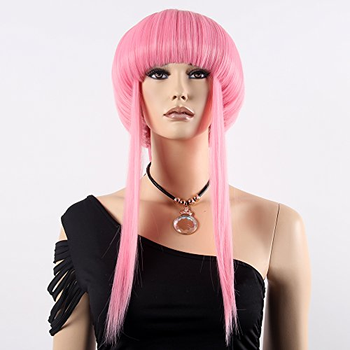 [Stfantasy Wigs for Women Long Straight Heat Friendly Synthetic Hair 24