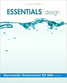 Book Essentials for Design Macromedia Dreamweaver MX 2004 Level 2: Level 2