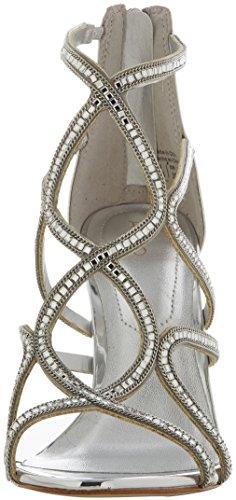 Mujer Sandalias Plateado Con Para Asteicia silver Punta Abierta Aldo 5Ywv16x5