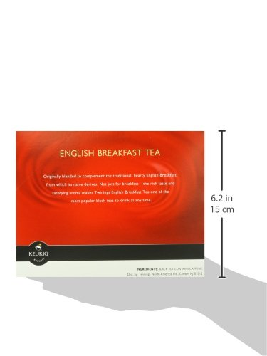 Twinings of London English Breakfast Tea K-Cups for Keurig, 24 Count by Twinings (Image #4)