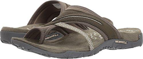 Green Merrell - Merrell Women's, Terran Post Thong Sandals Olive 9 M