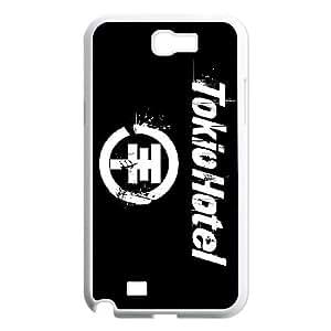 Samsung Galaxy N2 7100 Cell Phone Case Covers White Tokio Hotel D5767723