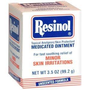Special pack of 5 Resinol Ointment Resinol Medicated Ointment Jar - 3.3 oz
