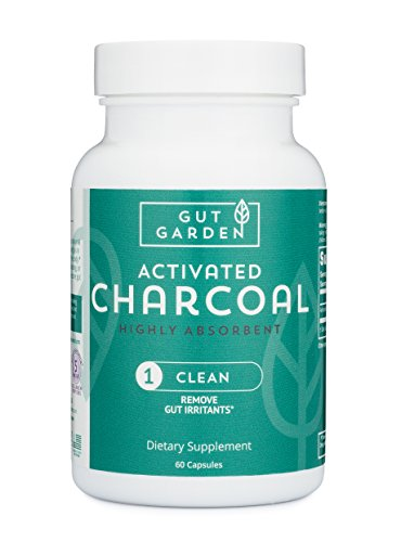 Gut Garden Activated Charcoal Highly Absorbent 60 Capsules For Sale