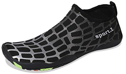 Quick Heeta Swim for thick Shoes Barefoot Swim Beach Aqua Men Water Socks Shoes b White Z Sports Women Dry xfFRYqfrwn