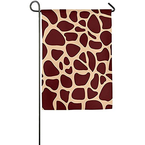 Giraffe Spots Clipart Garden Flag Indoor & Outdoor Decorative Flags for Parade Sports Game Family Party Wall -