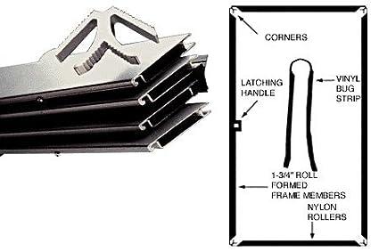 CRL Gray 31' X 81' K.D. Screen Door Kit