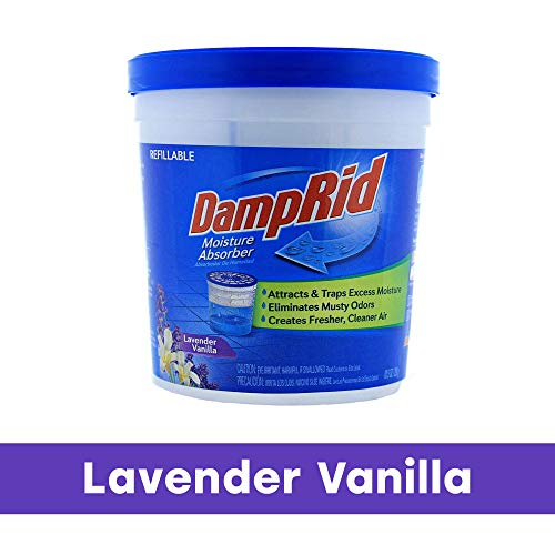 Cheapest Prices! DampRid FG01LV Moisture Absorber, Lavender Vanilla, 10.5-Ounce