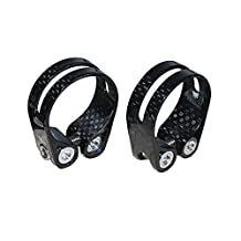 FASTEAM Road Bicycle Seatpost Clamp Carbon Fiber Bike Seat Pole Clamps 34.9mm Mtb Cycling Seatpost Clamp Clip 14g