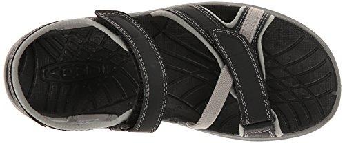 Keen Women's Aster Sandal, Black/Neutral Gray, 7 M US