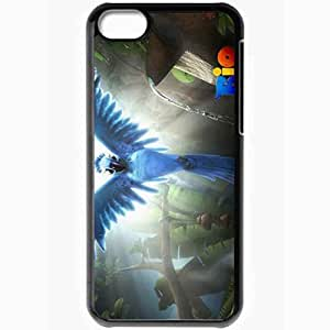 diy phone casePersonalized ipod touch 4 Cell phone Case/Cover Skin Rio Cartoon Pearl Parrot Macaw Blackdiy phone case