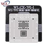 Tool Parts WL Best for iphone 5 5s 6 6s 7 Plus NAND processor BGA reball Tin Net HDD Baseband Stencil Great Repairing Base Tool - (Color: 7 7p baseband)