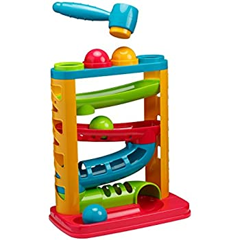 Playkidz: Super Durable Pound A Ball Great Fun for Toddlers.