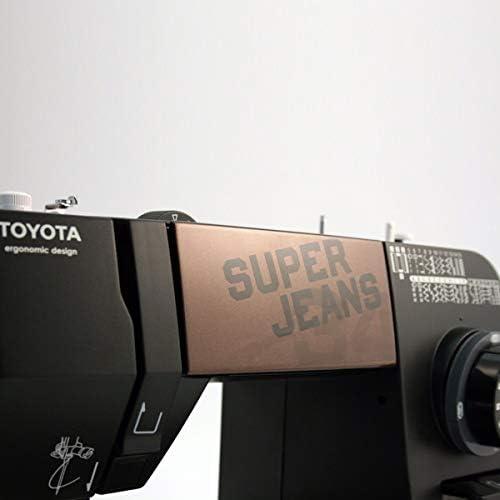 Toyota Super Jeans 34 Eléctrico - Máquina de Coser (Negro, Costura ...