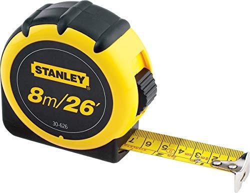 Stanley Cinta métrica ABS 8m x 1 pulg