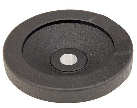 Kipp KHW-235 Aluminum No Handle Dished-Solid Hand Wheel 9.88 Inch Diameter, .875 Bore by Kipp