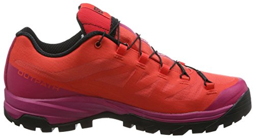 Senderismo Poppy W GTX Zapatillas de para Sangria Red Salomon Mujer Rojo Black Outpath zR4wqEWX