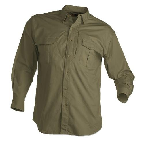 Browning Tactical Long Sleeve Shirt, Forest, X-Large