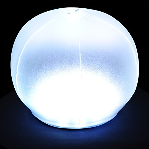 Bright Outdoors Solar Lantern - White plus Colour Cycling Mode Remote Control Inflatable Waterproof and Portable Ideal for Camping Pool Parties Mood Light and Sun Powered Adventure