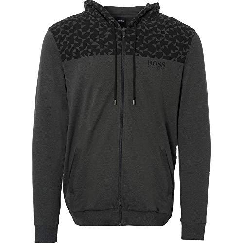 fe60dd4e836ed Hugo Boss Men's Contemp Jacket Grey Size M