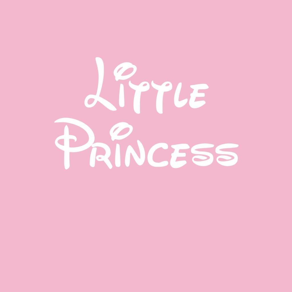 Little Princess Disney Style Font Kids Hooded Sweatshirt