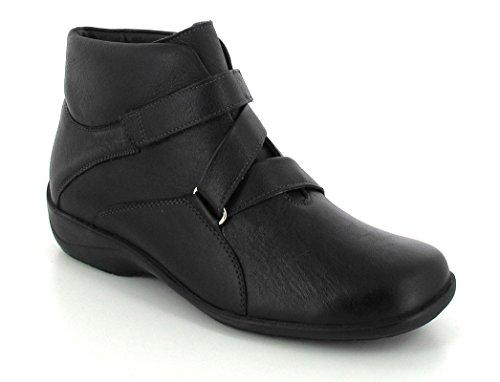 Negro De Velcro Botas Kim Solidus® 4qwUXpxH