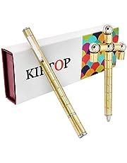 KIPTOP Magnetstift Interessantes Kombinationsspielzeug   Wunderbaren Magnetischer Kugelschreiber   Fidget Toy Geschenk   Stylus Stift   kreative Jungen Geburtstagsgeschenk (Pen_Golden)