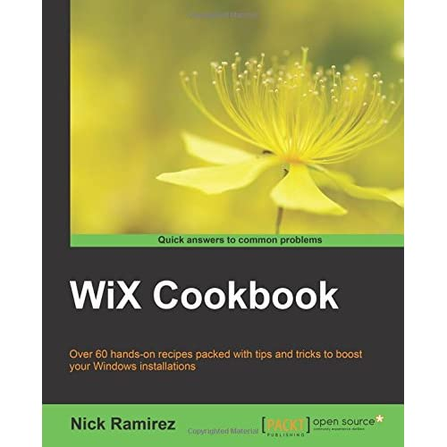 Wix cookbook download