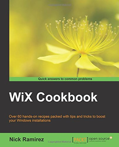 WiX Cookbook by Packt Publishing - ebooks Account
